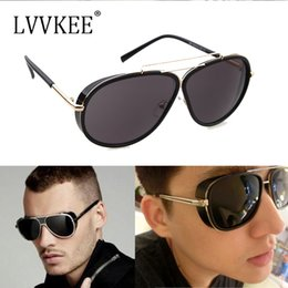 ed3303ae43f4a IRON MAN 3 Matsuda TONY Stark Steampunk Sunglasses Mens Mirrored Designer  Brand womens Sun Glasses Gafas Oculos De Sol UV400
