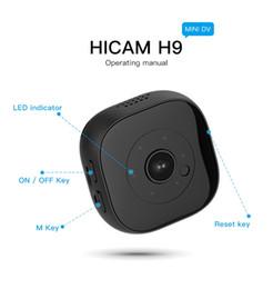 Cctv Vision Australia - Full HD 1080P Mini Camera H9 Wireless WIFI IP Camera IR Night Vision Mini DV DVR Camcorders Home Security Surveillance CCTV Camera
