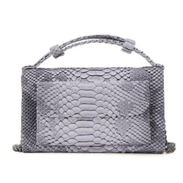 9be15a146a43 Yirenfang Shoulder Bags Snake Animal Chain Clutch Genuine Leather Bags For  Women Luxury Small Designer Crocodile Pattern Phone yellow snake bag on sale