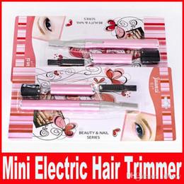 $enCountryForm.capitalKeyWord NZ - Mini Portable Women Ladies Body Shaver Razor Epilator Electric Eyebrow Hair Trimmer Remover Cutter Beauty Tool