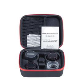 Опт Amazon горячая распродажа профессиональный популярный объектив путешествия комплект 4 в 1 смартфон объектив камеры PRO рыбий глаз макро телефото широкоугольный объектив