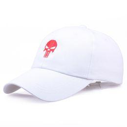 02ee15bb680 New fashion cap The Punisher baseball caps man women adjustable couple hip  hop hat cotton net summer winter casual snapback caps