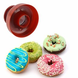 Desserts molD online shopping - Doughnut Donut Maker Cutter Mold For Desserts Sweet Food Bakery Baking Cookie Cake Mould Kitchen Silicone Mold Dessert Tool