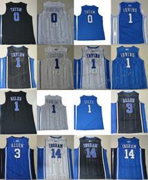 e18d0b77f Duke Blue Devils College Jerseys 1 Kyrie Irving 1 Harry Giles 3 Grayson  Allen 14 Brandon Ingram 0 Jayson Tatum 4 Redickr Stitched Jerseys