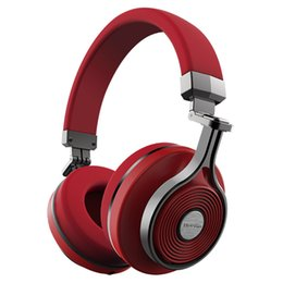 Wholesale Red Bluedio T3 Wireless Bluetooth Headphone Stereo Headset Microphone Music Wireless Headphone Hot Sell Headhand Headset By DHL