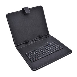 2018 новый кожаный чехол с микро-USB интерфейс клавиатуры для 7-дюймовый средний планшет