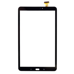 lcd tabs NZ - 50PCS For Samsung Galaxy Tab A 10.1 2016 T580 T585 Touch Screen Digitizer LCD Outer Panel Front Glass Sensor Repair