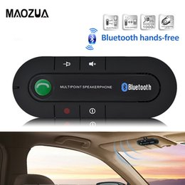 $enCountryForm.capitalKeyWord Canada - Handsfree Bluetooth Car Kit MP3 Music Player Wireless Bluetooth Speaker Phone Visor Clip Speakerphone for IPhone Android phones