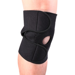 feb91d1ba8 New Adjustable Elastic Knee Support Brace Kneepad Patella Knee Pads Hole  Sports Safety Guard Strap Kneepad For Running Cycling