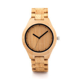 China BOBO BIRD Wooden Watch Men relogio masculino Timepieces Japan Movt 2035 Quartz Watches Special for Drop Shipping cheap japan drop shipping suppliers