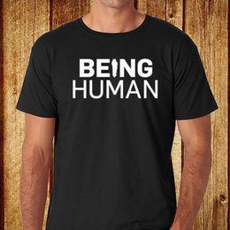 e5bae83d4 New Being Human BBC TV Show Men's Black T-Shirt Size S-3XL Free Shipping