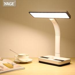 $enCountryForm.capitalKeyWord Australia - YAGE 1400mAh Battery White-Warm-Nature Light Led Table Lamp Desk Lamp Stepless Dimming Knod Desk Light Hose Table Lamp 2018 New