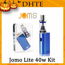 gold kanger subox Australia - Jomo Lite 40w 3ML Vapor Tank E Cigarette Kits Box Mod Lite 40w vapor mod kit VS Kanger subox MINI Kit DHL Free