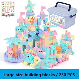 Toys Construction Set Canada - 230 PCS Hot Building Blocks Bricks toys Designer Construction Set Model & Building Toy Blocks Educational Toys Gifts Free shipping