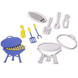 $enCountryForm.capitalKeyWord NZ - Cutting dies BBQ Grill for camping Cards Scrapbooking and Paper Crafts Embossing folder DIY paper craft Machines