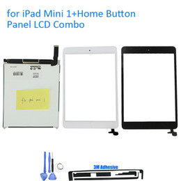 Touch Ipad Mini Ic Connector Australia - For IPad Mini 1 A1432 A1454 A1454 LCD Display With Touch Screen Digitizer Panel IC Connector + Tool Gift + Protector Film