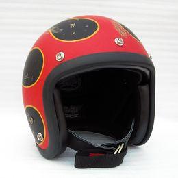 Painting Faces Australia - Hand craft painting flame fiberglass 3 4 open Face helmet cross safe protective bike bicycle helmet