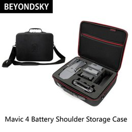 $enCountryForm.capitalKeyWord NZ - Carrying Bag Case Waterproof Anti-Shock For DJI Mavic Pro RC Drone 4pcs Battery Accessories Storage Box Shoulder Bag Suitcase