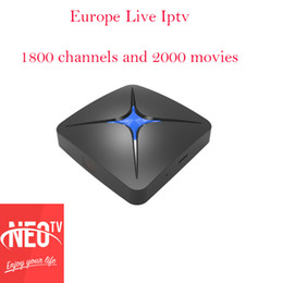 Arabic Iptv Android Tv Box Canada - French Arabic Spanish Neotv IPTV subscription Neopro Stream media player1800 channel 2000 movie one year T96 android tv box