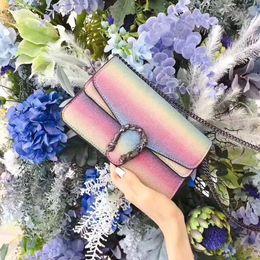 $enCountryForm.capitalKeyWord Canada - 2018 New fashion Sequins Shell PU Leather Tote for Party Girls Fashion Chain Shoulder Handbags Shiny Small Crossbody for Women Messenger Bag