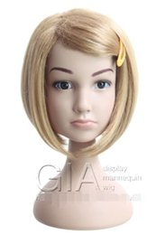 $enCountryForm.capitalKeyWord NZ - Children Kid Mannequins Head for Hat Jewelry Wig Hair Sunglass Display PVC Plastic can Dismounting Famous Brand GIA Mannequin High Quality