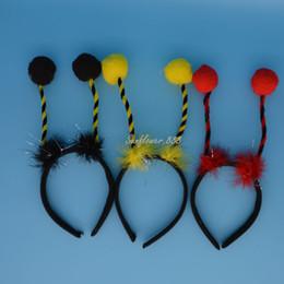 $enCountryForm.capitalKeyWord NZ - Adult Child Ant Bug Ladybird Ladybug Alien Antenna Bug Ball Head Headband Headwear