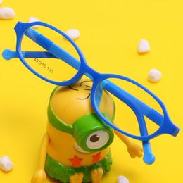 fab163ac39 TR90 Silicone Children Optical Glasses Frame Prescription Kids Eyeglasses  Myopia Eye Glasses Frames For Girls Boys Clear Eyewear