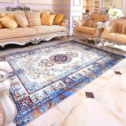 room sized rugs 2020 - Europe Palace Retro Style Carpet Parlor Living Room Large Size Rugs Printed Bedroom Chair Non-slip Bathroom Mats Home De