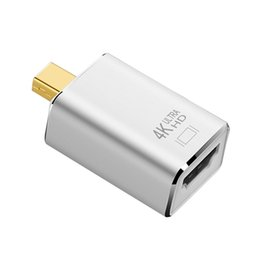 $enCountryForm.capitalKeyWord UK - HDMI Adapter Mini DP Male To HDMI Female Adapter 4K*2K Cable converter AV 1080P Mini DisplayPort adapter