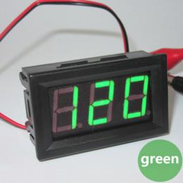 Digital Amp Meter Panel Australia - 1pc Mini Car Auto Motor LED Digital Voltmeter Ammeter AC 70-500V 0.56 Inch Panel Amp Volt Current Meter Tester