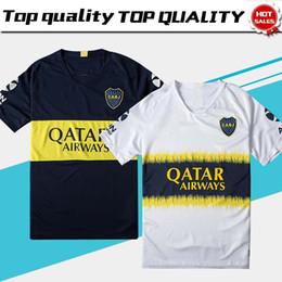 975c92d1 2018 Boca Juniors Home Blue Soccer Jersey Boca Juniors Away White Soccer  Shirt 2018 Football Uniforms Sales Free Shipping