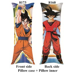 dragon ball z cartoon gifts 2020 - New DRAGON BALL Z anime Pillow cartoon home soft body long pillows within inner 40cm*100cm custom gifts