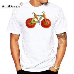 $enCountryForm.capitalKeyWord NZ - Antidazzle Healthy Ride T-Shirt Men Funny Hipster Lemon Bicycle Print Tee Tops