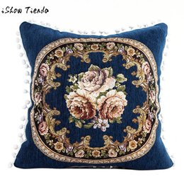 plain beds 2019 - Printed Pillows Cover Cushions Covers Bed Pillow Case Bed Pillowcase Square 48X48cm Removable Washable White Red Blue Br