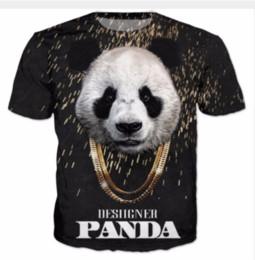 4c862f399f93 New Arrival Men Women Panda Animal 3D Printed T-shirt Summe Style Fashion  High Quality Casual T-shirt S-XXXXXXXL U537