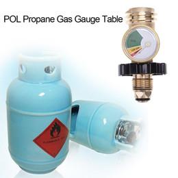 Venta al por mayor de POL Tabla de medidores de gas propano QCC1 Válvula de presión de barbacoa Instrumento de prueba de presión del tanque de propano Herramientas