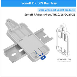 $enCountryForm.capitalKeyWord NZ - Itead Sonoff DR DIN Rail Tray Adjustable Mounted Rail Case Holder Solution for Sonoff Mounted Onto The Guide Track Kit for Switchboard