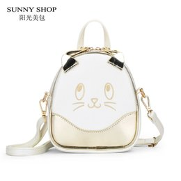 Backpacks Shops Canada - SUNNY SHOP kawaii Carton Women Backpck For Girls School Bag For Teenage Girls women's bag backpacks mini cute animals bagpack