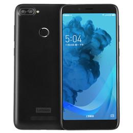 Wholesale Original Lenovo K320t 4G LTE Cell Phone 2GB RAM 16GB ROM SC9850k Quad Core Android 5.7 inch IPS 8MP Fingerprint ID OTA Smart Mobile Phone