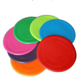 $enCountryForm.capitalKeyWord UK - Soft Flying Flexible Disc Tooth Resistant Outdoor Large Dog Puppy Pets Training Fetch Toy Silicone Dog Frisbee Wholesale
