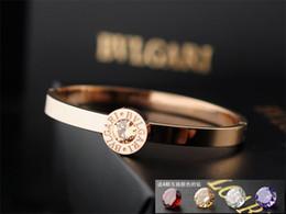 $enCountryForm.capitalKeyWord Australia - liruoxi1314 High Quality Celebrity design Letter Metal Buckle diamond bracelet Fashion Metal Clover Cuff bracelet Jewelry With Box