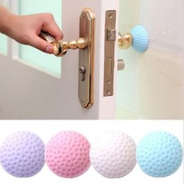 4 Colors Doorknob Back Bumper Wall Protector Shockproof Anti-Crash Pad Mute Stickers Door Knob Mats Novelty Items CCA10610 300pcs from color security camera night vision manufacturers