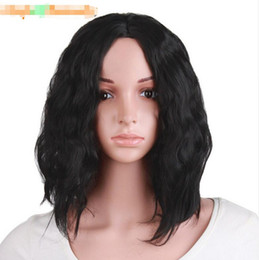 afro hair wigs for african woman 2019 - Afro Kinky Wig Curly Synthetic Wigs For Black Women Heat Resistant Female Hair Women Natural Looking African Wig cheap a