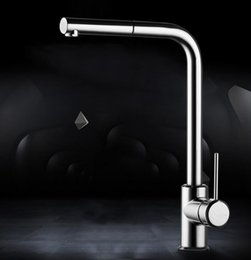 $enCountryForm.capitalKeyWord NZ - Fashion German technology high quality brass chrome single lever hot and cold pull out sink faucet kitchen tap