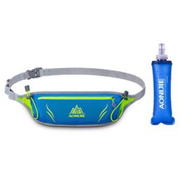 extra packs 2018 - 2018 Waist Bags Running Pack Outdoor Sports Waist Bag Men Women Jogging Hiking Cycling Workout Belt Bag With Extra Water
