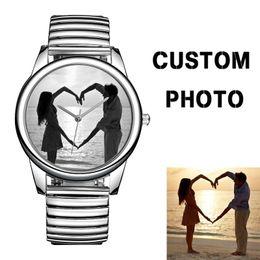 steel buildings 2019 - B-8200 Build Your Own Watch Dial Custom Your Own Design Men Designer Watch Stainless Steel Elastic Band Reloj Personaliz