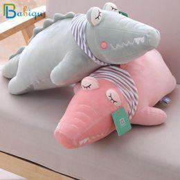 Clothes For Plush Toys Australia - Babiqu 1pc 65cm Soft Kawaii Crocodile with Clothes Plush Toys Cute Staffed Animal Doll for Children Kids Sofa Pillow Cushion