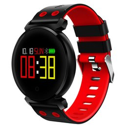 ip68 smart watch 2019 - New 2018 Smart Watch Men Women K2 Color Screen Heart Rate Blood Pressure Sport Tracker IP68 Smartwatch for IOS Android X