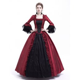 Antoinette dress online shopping - Black and Red Marie Antoinette Dress Gothic Victorian Dress Party Ball Gown Renaissance Rococo Dresses