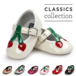 $enCountryForm.capitalKeyWord Australia - ROMIRUS Baby Girl Princess Shoes Melissa Cherry Soft Bottom For First Walkers Children Kids Toddler Newborn